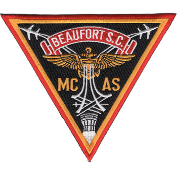 Marine Corps Air Station Beuafort South Carolina Patch