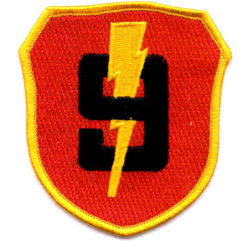 Marine 3rd Division 9th Regiment Patch