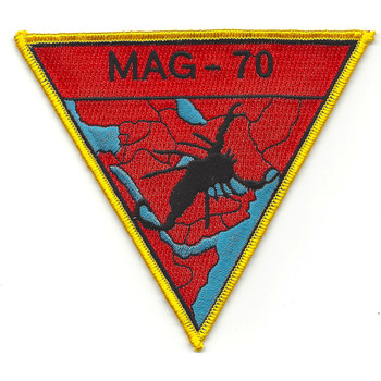 MAG-70 Aircraft Group Patch