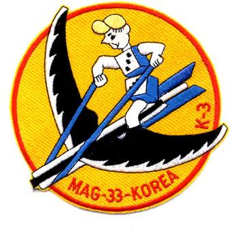 MAG-33 Marine Aircraft Group Three Three Patch