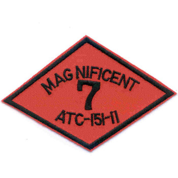 Magnificent 7 ATC-151-11 River Assault Craft Assault Tactical Advanced Ship Patch