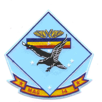 MAG-14 Marine Aircraft Group Fourteen Patch