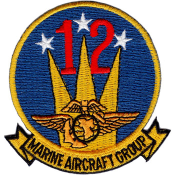MAG-12 Aircraft Group Twelve Patch