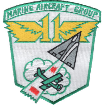 MAG-11 Marine Aircraft Group Eleven Patch