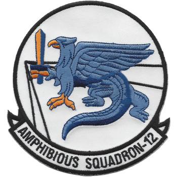 PHIBRON 12 Amphibious Squadron Twelve Patch