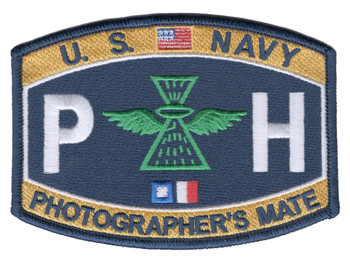 PH Aviation Photographer's Mate Naval Rating Patch