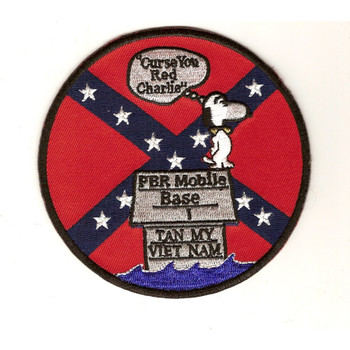 PBR Mobile Base 1 Patrol Boat River Mobile Base One-Snoopy Patch