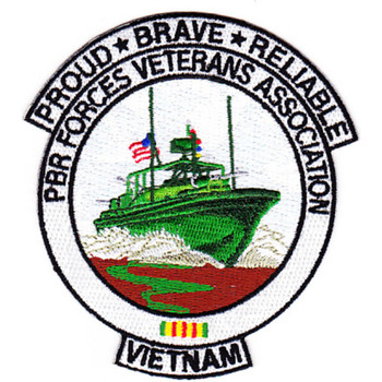 PBR Forces Veterans Association Patrol Boat River Forces Patch