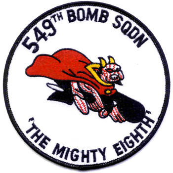 549th Bomb Squadron Patch