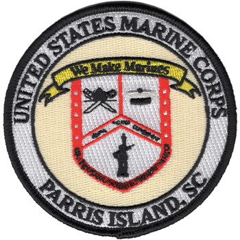 Parris Island, SC Recruit Training Center Patch