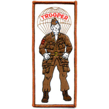 Paratrooper Soldier Patch