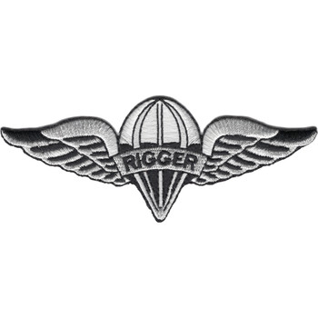 Parachute Rigger Badge Patch