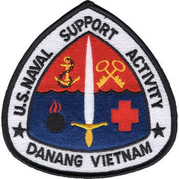 Naval Support Activity Danang Vietnam Patch