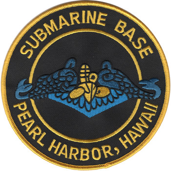 Naval Submarine Base Pearl Harbor Patch