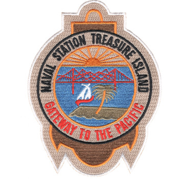 Naval Station Treasure Island California Patch