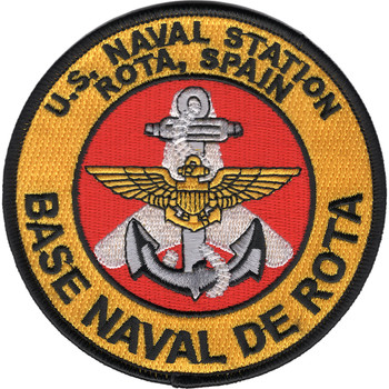 Naval Station Rota Spain Patch