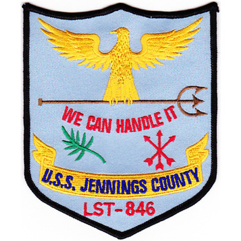 LST-846 USS Jennings County Patch