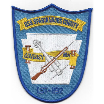 LST-1192 USS Spartansurg County Patch