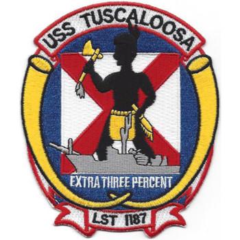 LST-1187 USS Tuscaloosa Patch