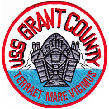 LST-1174 USS Grant County Patch