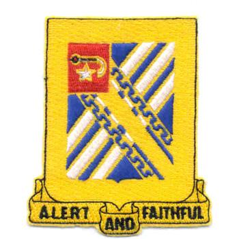 544th Field Artillery Battalion Patch