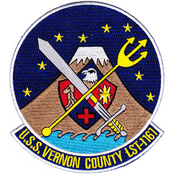 LST-1161 USS Vernon County Patch