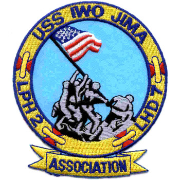 LPH-2 LHD-7 USS Iwo Jima Patch - Version A