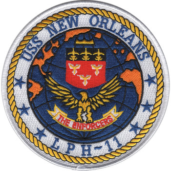 LPH-11 USS New Orleans Patch