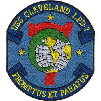 LPD-7 USS Cleveland Patch