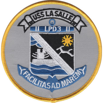LPD-3 USS La Salle Patch