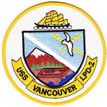 LPD-2 USS Vancouver Patch