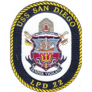 LPD-22 USS San Diego Patch
