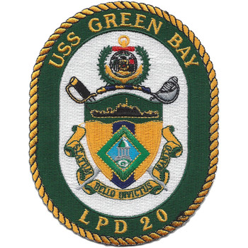 LPD-20 USS Green Bay Dock Landing Ship Patch