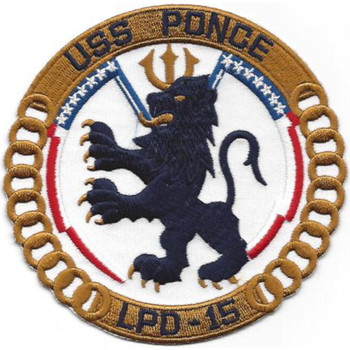 LPD-15 USS Ponce Patch