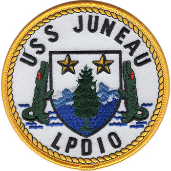 LPD-10 USS Juneau Amphibious Transport Dock Patch