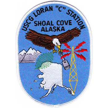 Loran C Station Shoal Cove Alaska Patch