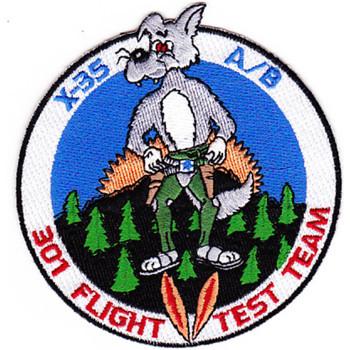 Lockheed Martin X-35 A/B JSF Patch 301 Flight Test Team