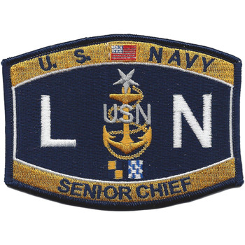 LNCS Senior Chief Legalman Patch