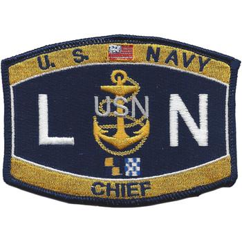 LNC Chief Legalman Patch