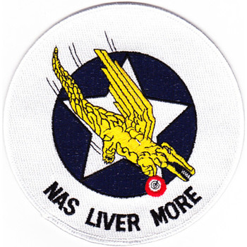 Liver More Naval Air Station California Patch