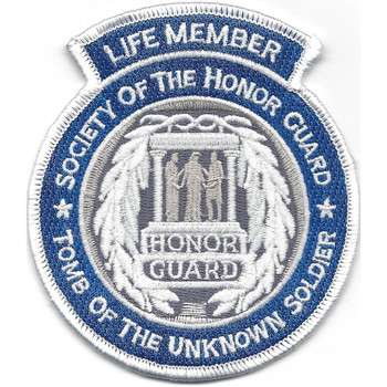 Life Member Society of the Honor Guard Patch