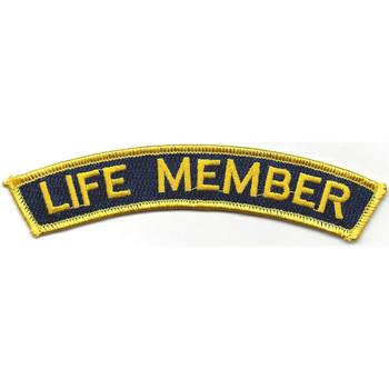 Life Member Rocker Patch