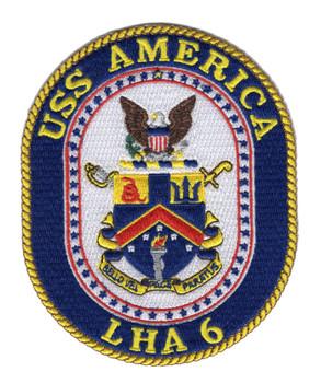LHA-6 USS America Patch