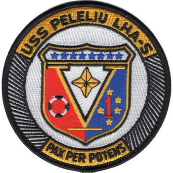 LHA-5 USS Peleliu Patch