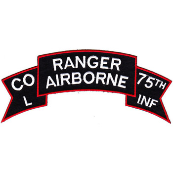L Company 75th Ranger Airborne Infantry Regiment Patch