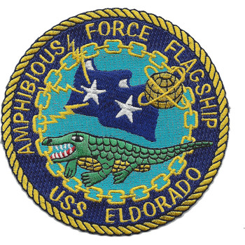 LCC-11 USS Eldorado Patch