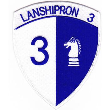 Lanshipron 3 Squadron Three Patch