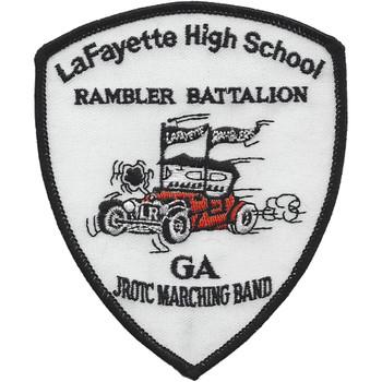 LaFayette High School GA. Rambler Battalion Patch