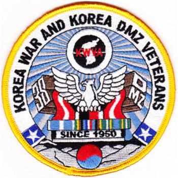 Korea War And Korea DMZ Veterans Association Patch