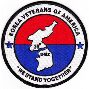 Korea Veterans Of America Patch We Stand Together